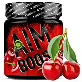 AIM BOOST | 40 Portionen | 23 Wirkstoffe | 247mg Koffein + Tyrosin +Theanin + Vitamine (Cherry)