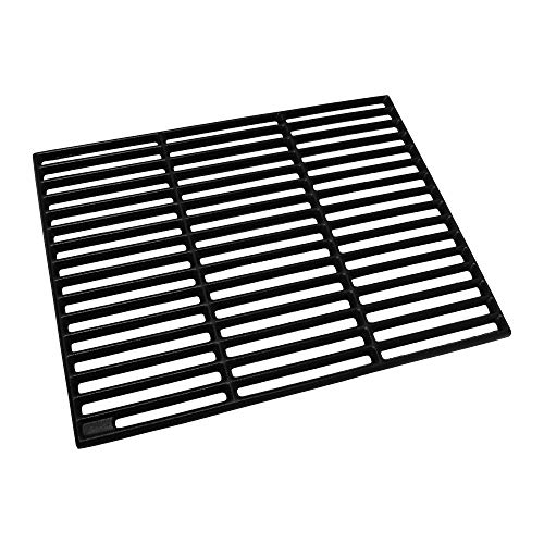 Grill & more Essentials Grillrost Gusseisen emailliert, 30 x 45 x 0,8 cm