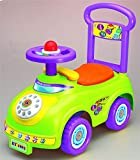 Allkindathings Push Along Sit On Car Telephone Themed Quality ride On Toy