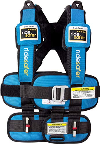 Ride Safer Travel Vest Gen 5, Small, Blue