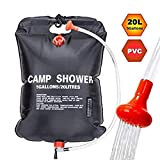 Portable Camping Solar Shower Bag Solar Heated Shower Bag 20/40L Outdoor Portable Shower Bathing Bag Traveling Camping -  Micoti