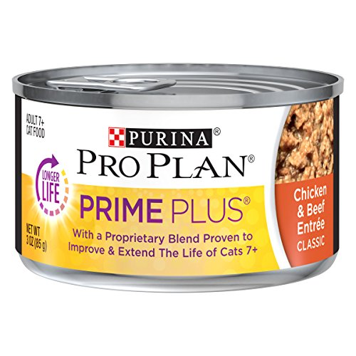 Purina Pro Plan Senior Pate Wet Cat Food, PRIME...