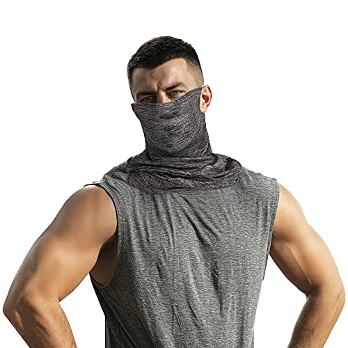 Neck Gaiter Face Scarf Mask Sun UV Dust Protection Breathable Elastic Face Scarf Mask for Fishing Hiking Running Cycling