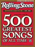 Rolling Stone Sheet Music Classics, Vol 1: 1950s-1960s (Rolling Stone Magazine, Vol 1)