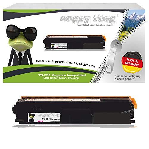 Magenta Toner made in Germany ersetzt BROTHER TN325 BK/ C/ M/ Y - für BROTHER DCP 9055 CDN, DCP 9270 CDN, HL 4140 CN, HL 4150 CDN, HL 4570 CDW, HL 4570 CDWT, MFC 9460 CDN, MFC 9465 CDN, BROTHER MFC 9970 CDW