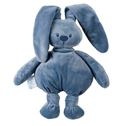 Nattou Kuscheltier Hase Lapidou, Wegbegleiter ab der Geburt, 36 cm, Lapidou, Blau