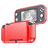 BEYOND CELL Compatible with Nintendo Switch Lite (2019) Protective Case, Ultra Slim Soft TPU Cover for Shock-Absorption and Anti-Scratch Design, Ergonomic Grip Design for Nintendo Switch Lite Console