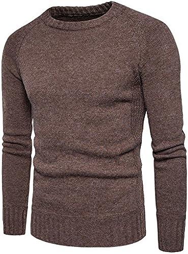 Jdfosvm Un Hiver, Les t - Shirt Pull Morceau branlant Pull Pour des hommes Chandail à col roulé,café,XL