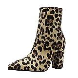Zapatos Invierno Mujer Botas de Nieve Calzado Caño Calentar Planas Casual Outdoor Aire...