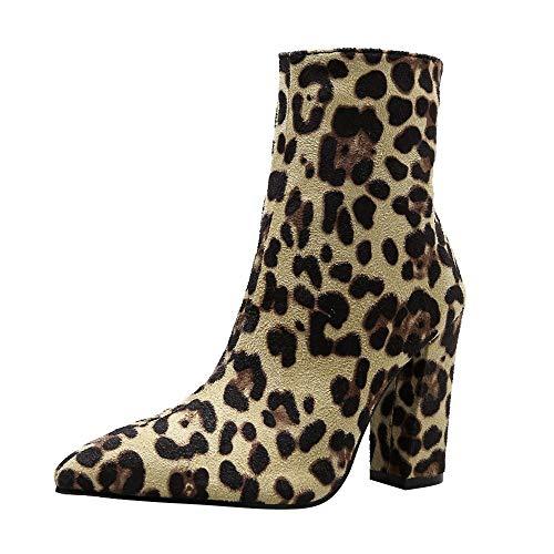 Zapatos Invierno Mujer Botas de Nieve Calzado Caño Calentar Planas Ca