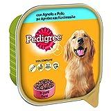Pedigree Comida para Perro con Cordero y Pollo de Paté, Recipiente de 300 g – 20 bandejas