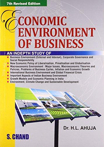 Economic Environment of Business (Macroeconomic Analysis)