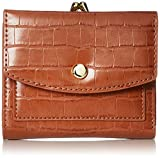 レガートラルゴ LJ-G0844 二つ折り財布 がま口 カード収納7枚 ポケット5 キャメル