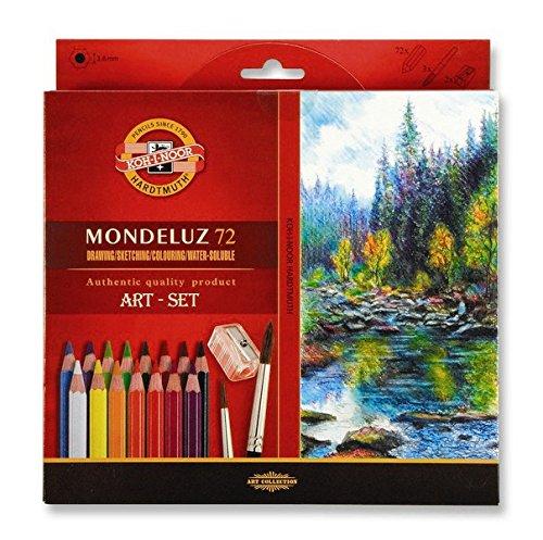 Koh-I-Noor 3714072001KZ Aquarelle Buntstift, 72 Stück