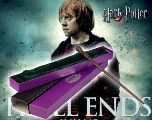 HARRY POTTER Noble Collection NN8413 Bacchetta Magica di Ron Weasley