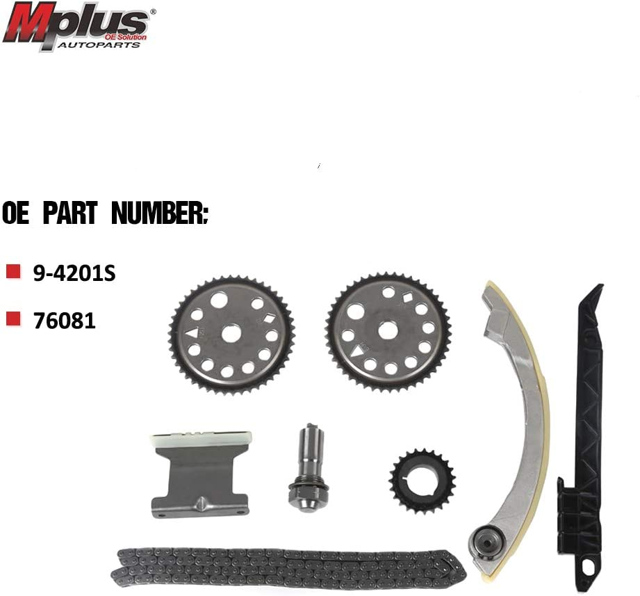 Mplus 9-4201S Engine Timing Chain Kit Replace for Chevrolet Astra ...
