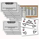 Love Coupon Book, Coupon Book Template, Editable Scratch off Coupon...