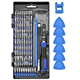 Precision Screwdriver Kit, XOOL 120 in 1 Electronics Repair Tool Magnetic Driver Kit with 111 Bits, Flexible Shaft, Extension Rod for Computer, Mobile Phone, Smartphone, Game Console, PC, Tablet