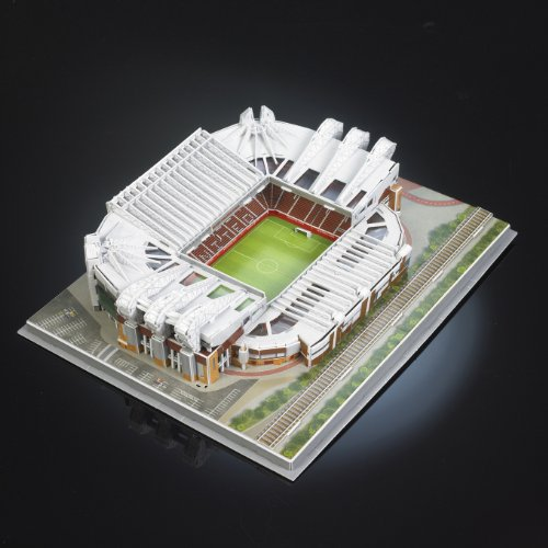 3D Manchester United Old Trafford Puzzle. Creative Constructive Building Football Games Toys