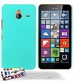 Muzzano Pearls - Funda para Microsoft Lumia 640 XL (protector de pantalla), color azul