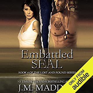 Embattled SEAL audiobook cover art