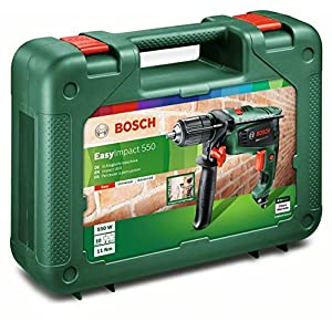 Bosch Schlagbohrmaschine EasyImpact 550 (550 Watt, im Koffer)