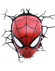 Maska 3D Spider Man Light