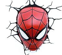 3D-Effekt Marvel Spider-Man Wandlicht Maße 17,5 x 10 x 24 cm