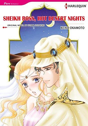 Sheikh Boss, Hot Desert Nights: Harlequin comics (English Edition)
