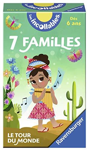 Ravensburger-Le Jeu des 7 familles des Incollables d'enfant, 4005556214600