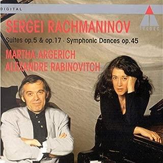 Rachmaninov: Suites for Piano Nos. 1 & 2 Opp 5 &17 / Symphonic Dances Op.45