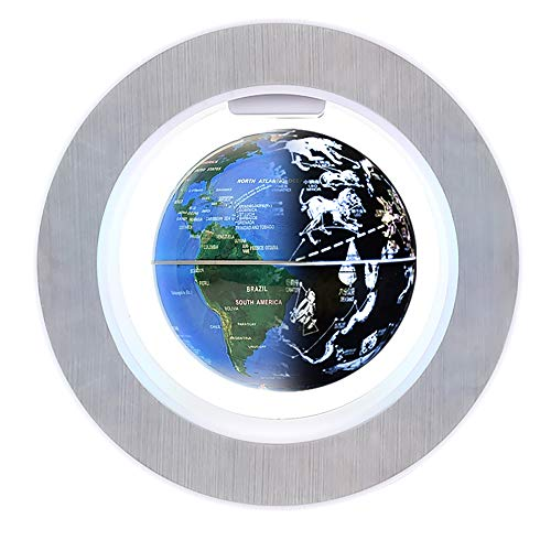 """Floating Globes Levitating auto Spin 4"""" Constellation Globes of The World for Adults,Tech Birthday Gifts Ideas for Men,Office décor Accessories and Cool Stuff"""