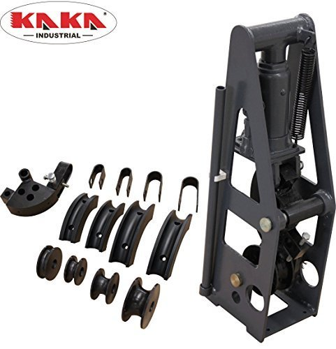 KAKA Industrial HB-8 Heavy-Duty 8 Ton Hydraulic Roll Cage Tube Bender, Solid Construction and High Precision Metal Tube...