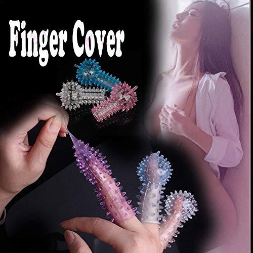 Mignon84Cook G-Point para Mujer, Cubierta para los Dedos, Huevo, Cubierta para la Cabeza, Productos eróticos, condón Convexo, Dedos, higiene, Funda para los Dedos