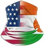 EE. UU. Niger Flag Neck Warmer Polaina Pasamontañas Máscara de esquí Sombreros de invierno Sombreros para hombres Mujeres Negro