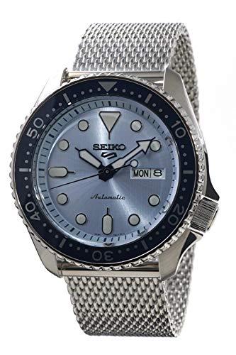 Seiko 5 Sports Automatic Mesh Men's Watch SRPE77K1 20mm Milanese Mens Watch