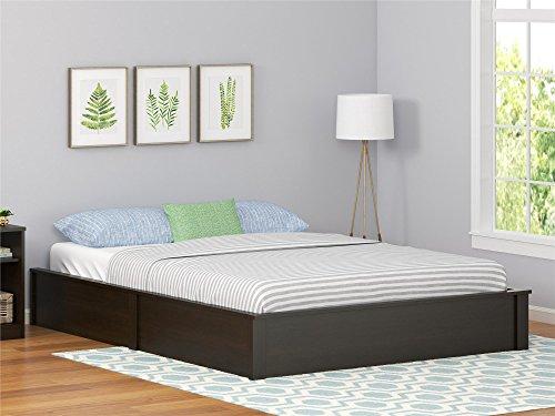 Ameriwood Home Full Platform Bed Frame, Espresso