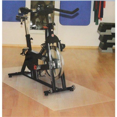 Friedola Uni Sportmatte Unterlegmatte Floor Safe, transluzent, 90x200x0,1cm, 78997