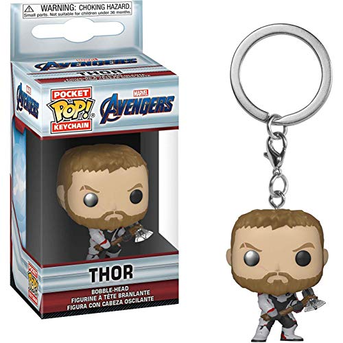 Os Vingadores Ultimato Chaveiro Mini Boneco Pop Funko Thor