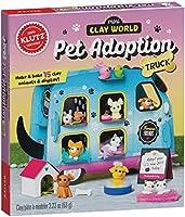 Klutz Mini Clay World Pet Adoption Truck Craft Kit
