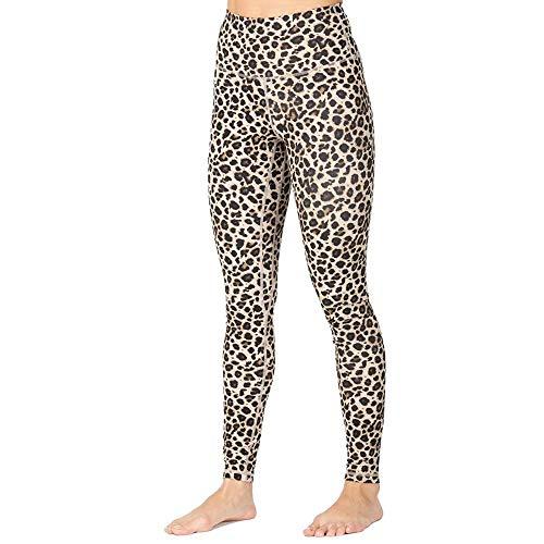 quming Jogging Deportivo Yoga Mujer,Leggings elásticos de Ropa Interior Femenina, Pantalones Activos de Longitud de Fitness-BW_S