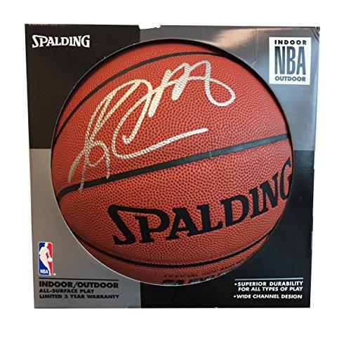 Cheapest Price! Karl Malone, Utah Jazz, NBA HOF, signed Spalding Basketball