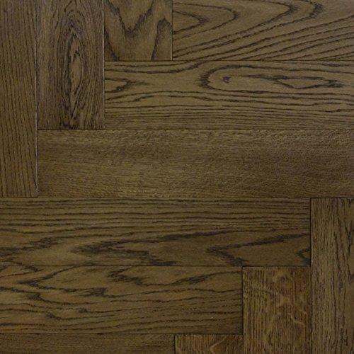 Floor Art Amsterdam Eiche Fischgrät Fertigparkett 600x120x13mm, extra schwarz geölt 4stg. Mikro Fase, 89,11 € / m², 76,99 € pro 0.864m² Verpackungseinheit