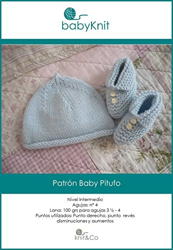 Patrón Baby Pitufo: Gorro y patucos para bebé