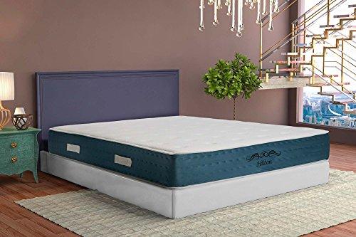 Be Zen Colchón Visco Hilton 140X180. 24 Cm Altura. con Núcleo y Viscoelástica de Alta Densidad.