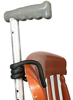 Walking Stick Holder ، بسته 2 تایی برای ذخیره سازی چوب آسان در راه رفتن آسان. استیک ایمن - سقوط چوب پیاده روی خود را از روی صندلی خود ، اسکوتر تحرک یا هر جایی که به آن نیاز دارید ، بر روی زمین نکشید.