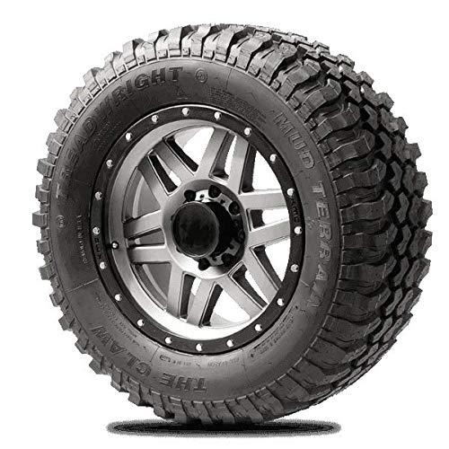 TreadWright CLAW M/T Tire - Remold USA - LT275/70R18E Premier Tread Wear (40,000 miles)