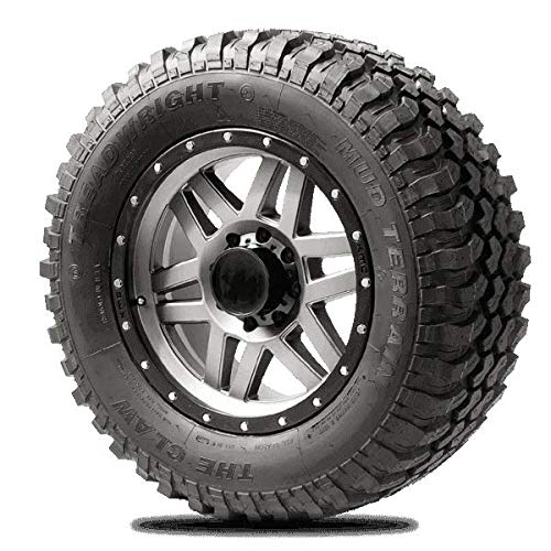 TreadWright CLAW II M/T Tire - Remold USA - LT35x12.50R20E (40,000 miles)