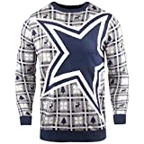 Forever Collectibles NFL Ugly Sweater Pullover Christmas Dallas Cowboys Big Logo Weihnachtspullover -