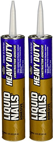 Liquid Nails LN-903 2 Pack Heavy Duty Construction Adhesive,...